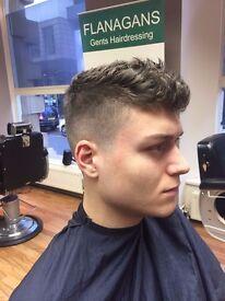 Free Gents haircut
