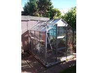 8x6 Aluminium Greenhouse