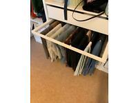 IKEA Komplement pull out trouser hanger