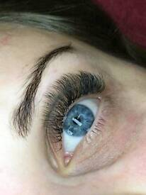 Russian Volume and Classic Eyelash Extensions