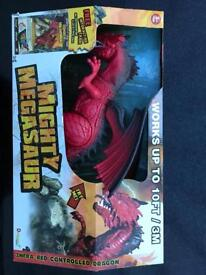 Remote control moving dinosaur NEW