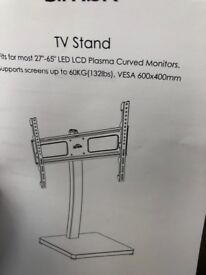 Brand new floor standing tv stand for up to65 inch tv brand new packed in box for sale