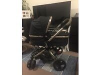 Mothercare Orb Pram and pushchair