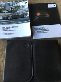 BMW 5 SERIES TOURING SERVICE BOOK