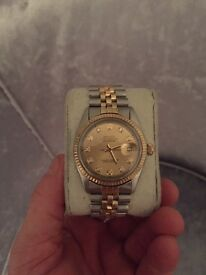 Rolex date just 36mm (100% authentic)