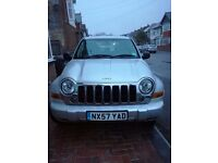 Jeep Cherokee 2007 4x4 £4900