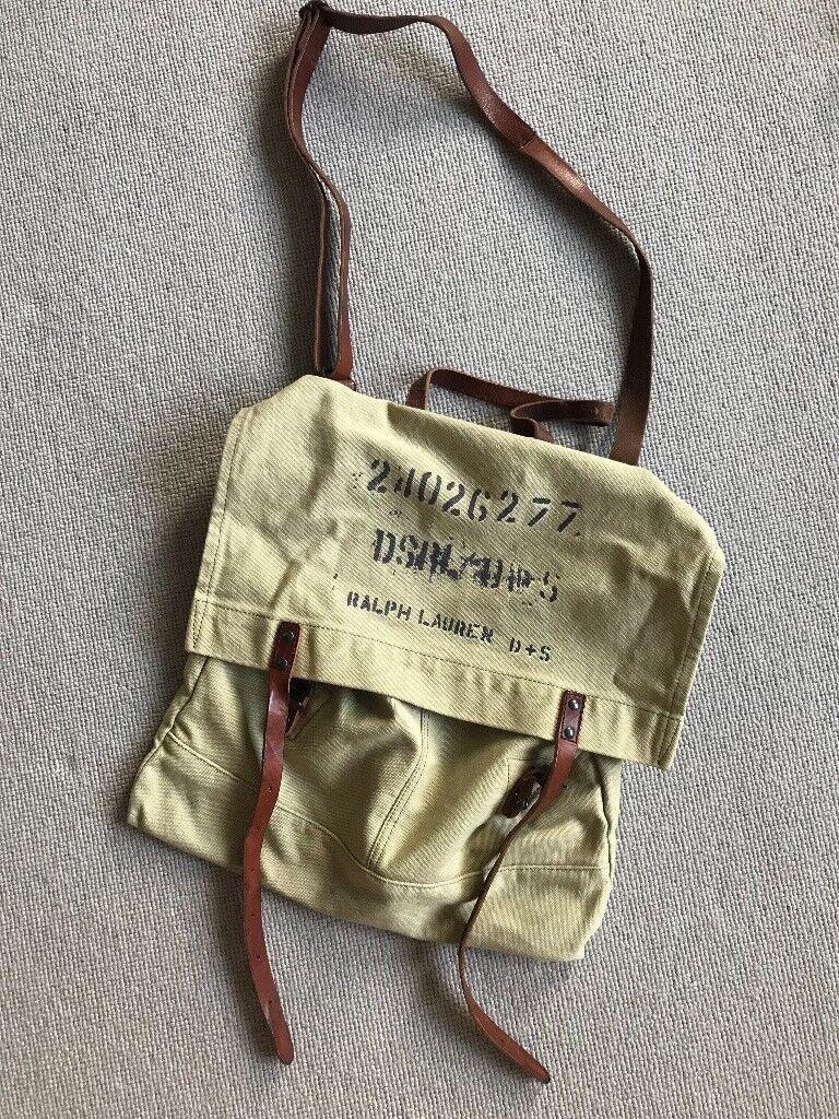 Ralph Lauren satchelin Wimbledon, London - Excellent condition, costs £100 new. Unwanted gift, very practical. Mens satchel. Thank you