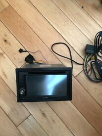 Kenwood dnx524obt radio sat nav