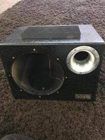 10 inch vibe sub with amp