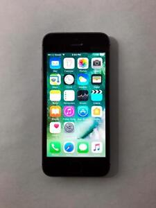 FACTORY UNLOCKED Space Grey 16GB iPhone 5S (A Condition) -- BLOWOUT! -- [2843]