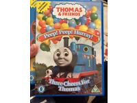 Thomas & Friends DVD's x 3.