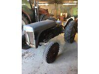 Massey Ferguson Petrol TVO Tractor running