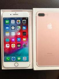 iPhone 7 Plus -32 GB used - unlocked