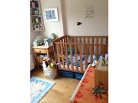 East Coast Nursery Bamboo Cot Bed for newborn to toddler
