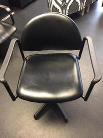 5 hairdressing swivel chairs