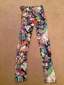 Jazzy full length cartoon style leggings