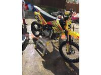 Stomp/pitbike z140R 2016 model swap