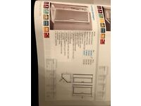 Ideal Standard Shower Enclosure - Synergy Pentagon 800mm - New, in original packaging