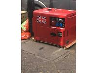 Perkins diesel generators 18.5kva key start