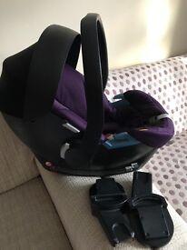Mamas&papas car set+adaptor+cozy toes+parasol