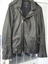 ALLSAINTS Man's leather biker jacket