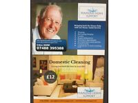 Professional, insured, vetted and referenced cleaners, homehelps and gardeners