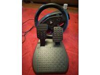PlayStation 4 steering wheel / ps 4 steering wheel