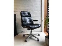 Vintage Karl Dittert Office Chair, Martin Stoll, Giroflex, Charles Eames, Retro