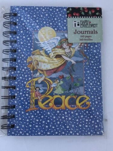 Mary Engelbreit Peace Angel Christmas spiral 160 page journal NEW