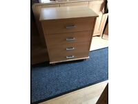 2 x Small Chest of Drawers £15 for the pair