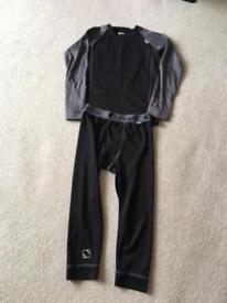 Assorted Boys ski thermal wear Age 9