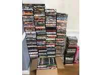 Wholesale job lot DVD collection.