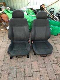 Astra van seats no rips