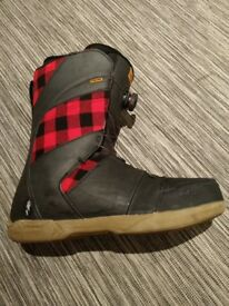 Ride Anthem Snowboard Boots Size 13, Euro 49