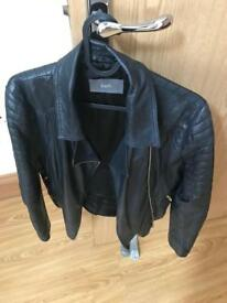 Ladies real leather jacket size 14 great condition