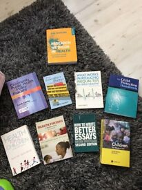 STUDENT NURSE/HV Text books