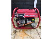 Briggs & Stratton promax 4500 generater