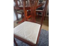 Table 6 chairs new cost 2799