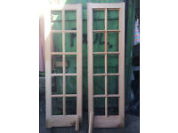 NEW UNGLAZED PAIR OF INTERNAL FRENCH DOORS