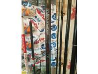 Sea fishing tackle rods reels bait