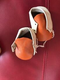Hand made Baby shoes 0-6 months