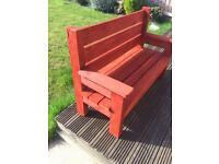 Kids garden benches
