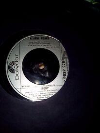 Elaine Paige vinyl record 45 rpm memory.