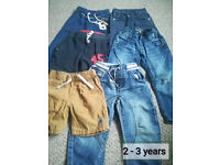 Boys bundle of clothes 2-3years