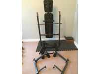 Weight bench for sale (Pro Fitness) - good condition.