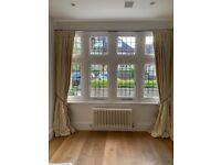 Lovely full length cream curtains