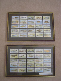 PLAYERS 1933 FULL SET FRAMED CIGARETTE CARDS