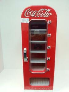 Coca-Cola Mini fridge. WE SELL COLLECTIBLES (#49851)CH620474