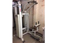Lat pull down machine