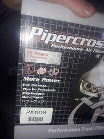 new pipercross Air Filter.
